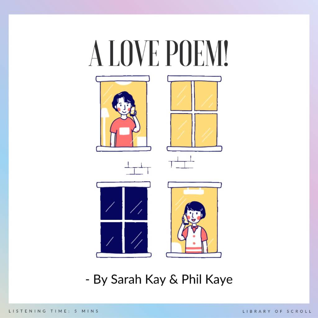 For our very first video recommendation, we thought we'd keep it simple. So here is some heart-warming spoken word poetry by Sarah Kay & Phil Kaye. The topic is the simplest (and the most complicated) thing - Love!